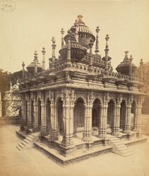 General view of the Mausoleum of Maiji Sahiba, Junagadh